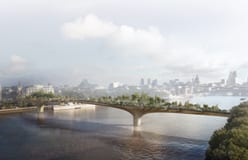 THE GARDEN BRIDGE, LONDON