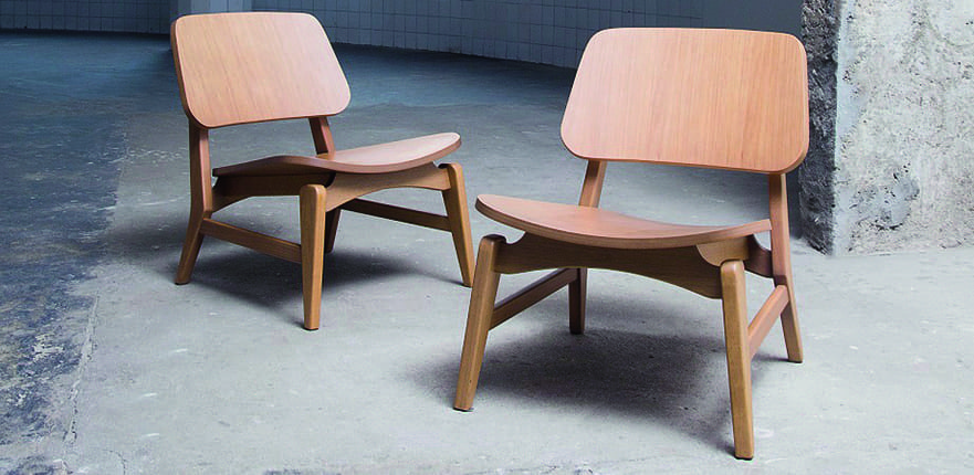 Claudio Sibille's Leo Lounge Chair