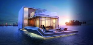 Floating Seahorse house Dubai