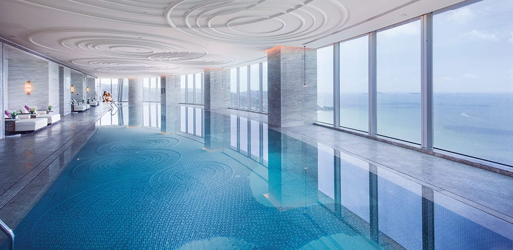 Conrad Xiamen's sky-high spa