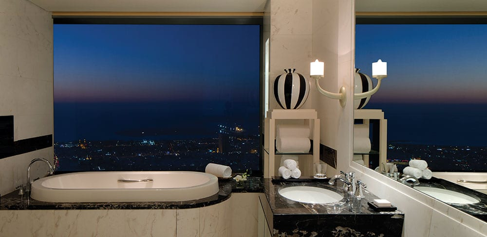 Royal Suite Bathroom at Conrad Dubai