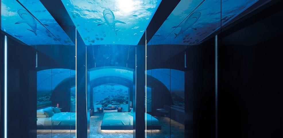 Conrad Maldives Rangali Island Undersea King Guest Suite