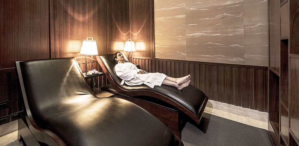 And relax... in Conrad Pune's wellness zone