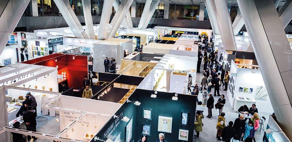 Tokyo International Forum opens its doors to Art Fair Tokyo
