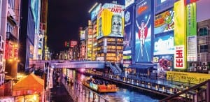 The famous Glico Man billboard