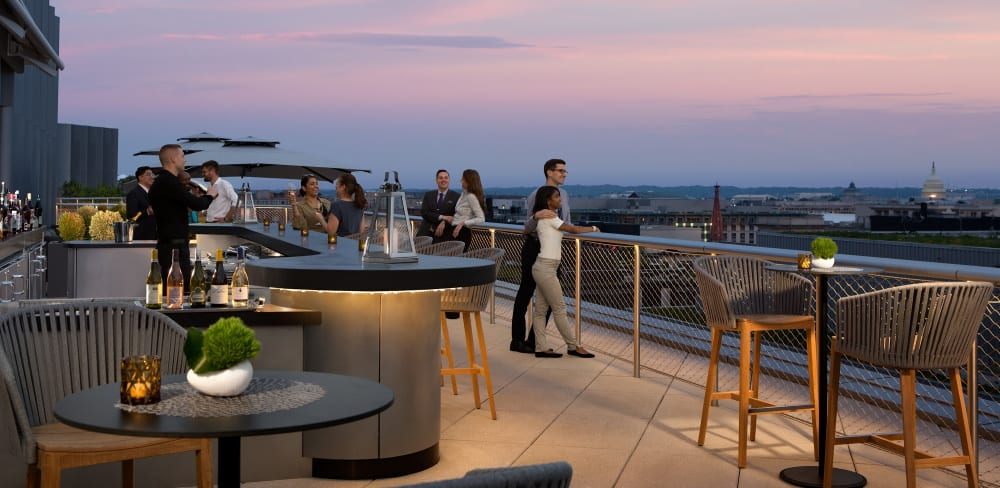 Rise Above Washington, DC From the Capital's Newest Rooftop, Summit