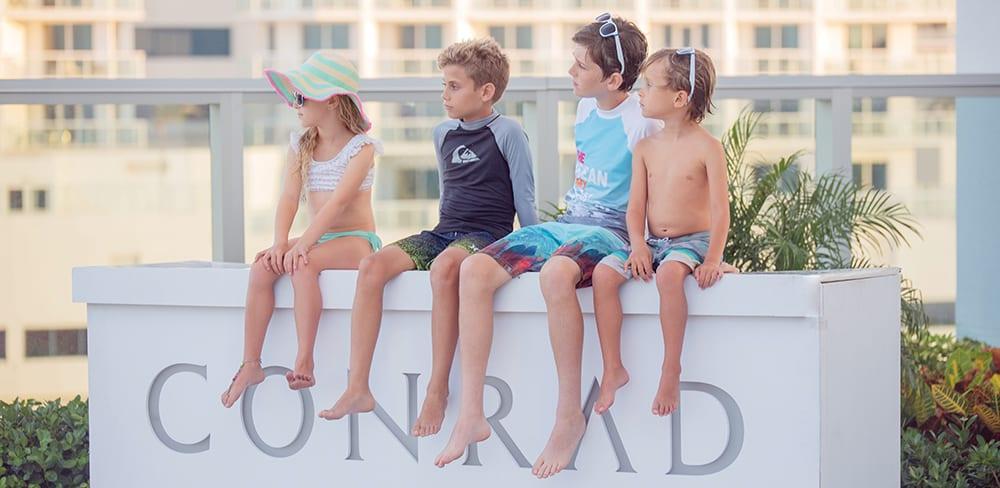 Conrad Fort Lauderdale Beach surf school