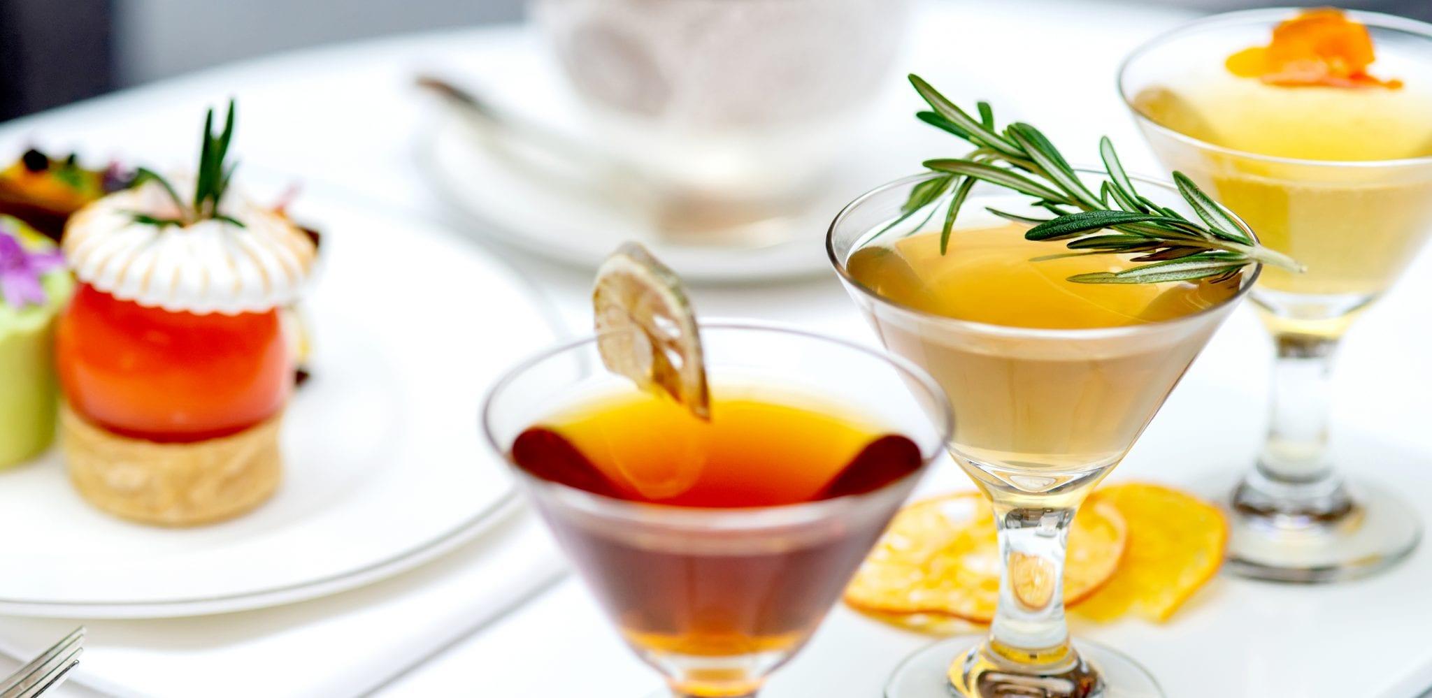 London gin and tea