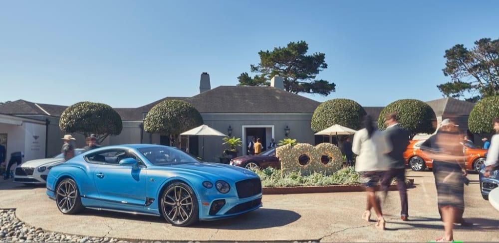Bentley 100 anniversary