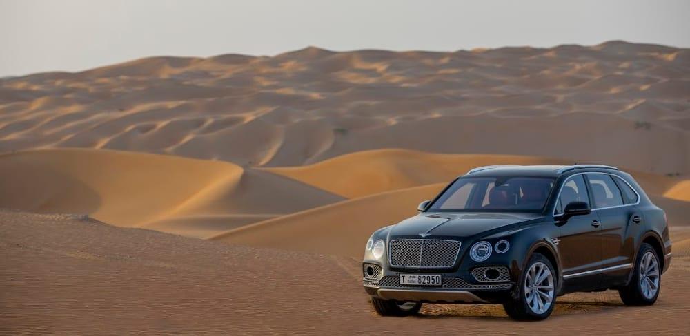 Bentley Bentayga in Dubai
