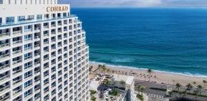 Beachfront at Conrad Fort Lauderdale Beach
