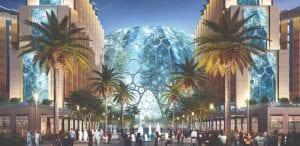 Expo 2020 plaza