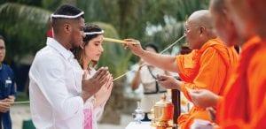Koh Samui monk blessing