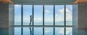 Indoor Pool at Conrad Xiamen