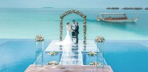 Maldives wedding ceremony