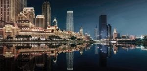 Tianjin's cityscape